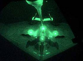 B-2 during refueling, Operation 'Allied Force'