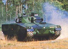 Le CV 9030 de Hägglunds, ici en version norvégienne (photo Roy Haaland)