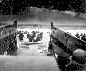 Seconde guerre mondiale: Omaha Beach, 06.06.44
